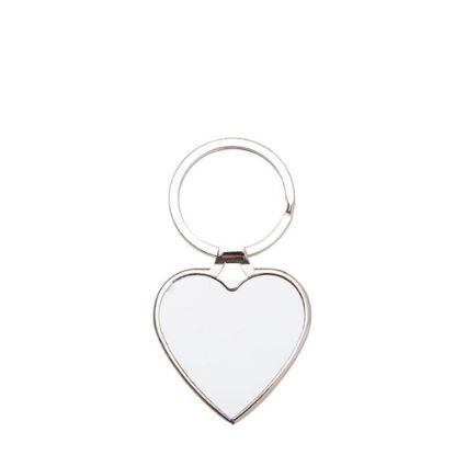 Εικόνα της KEY-RING METAL 4x4.5cm (Heart)