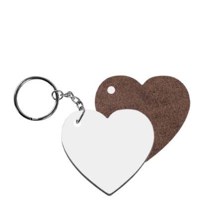 Εικόνα της KEY-RING - HB (HEART) 1-sided