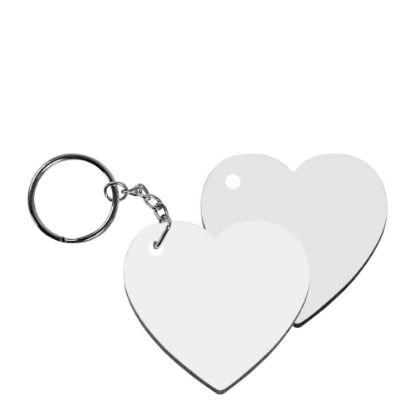 Εικόνα της KEY-RING - HB (HEART) 2-sided