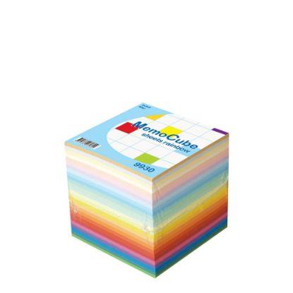 Εικόνα της MEMO CUBE 9x9 *SHEET* rainbow (910sh.)