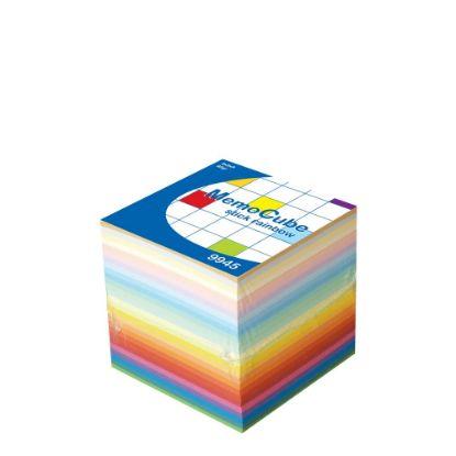 Εικόνα της MEMO CUBE 9x9 *STICK* rainbow (910sh.)