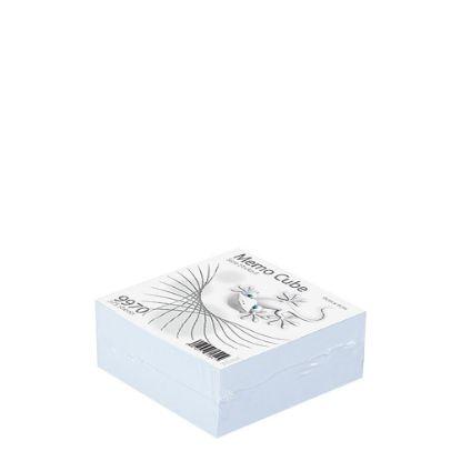 Εικόνα της MEMO CUBE 9x9 *STICK* white (375sh.)