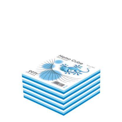 Εικόνα της MEMO CUBE 9x9 *STICK* blue (375sh.)