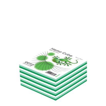 Εικόνα της MEMO CUBE 9x9 *STICK* green (375sh.)