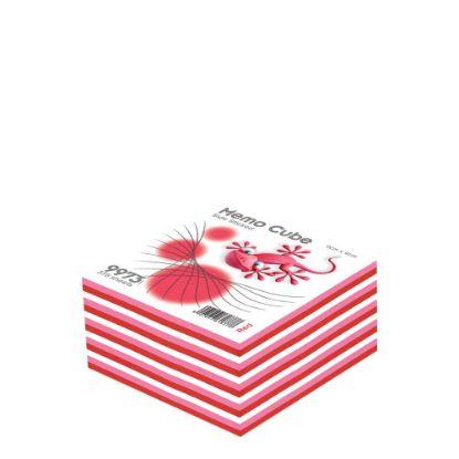 Εικόνα της MEMO CUBE 9x9 *STICK* red (375sh.)