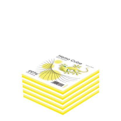 Εικόνα της MEMO CUBE 9x9 *STICK* yellow (375sh.)