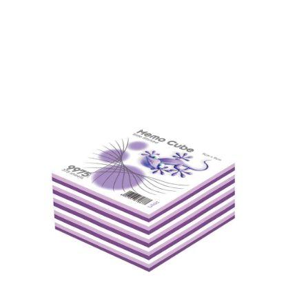 Εικόνα της MEMO CUBE 9x9 *STICK* lilac (375sh.)