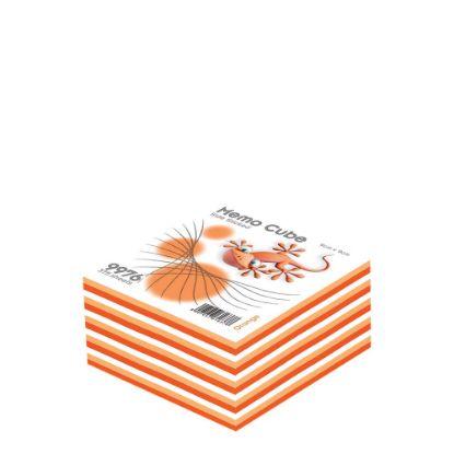 Εικόνα της MEMO CUBE 9x9 *STICK* orange (375sh.)