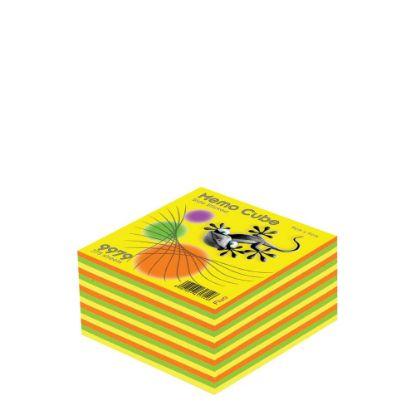 Εικόνα της MEMO CUBE 9x9 *STICK* fluo (375sh.)
