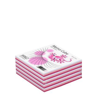 Εικόνα της MEMO CUBE 9x9 *STICK* pink (375sh.)