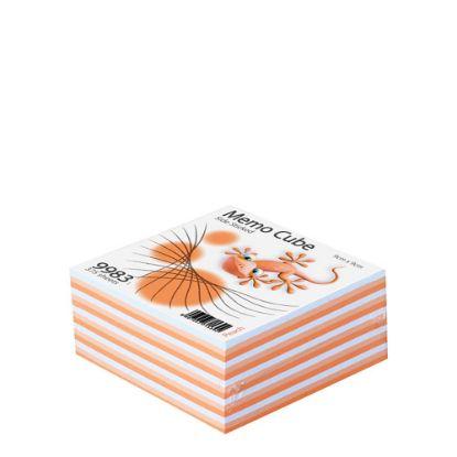 Εικόνα της MEMO CUBE 9x9 *STICK* peach (375sh.)