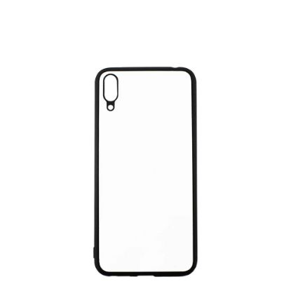 Picture of HUAWEI case (Y7 2019 no Fingerprint) TPU BLACK with Alum. Insert