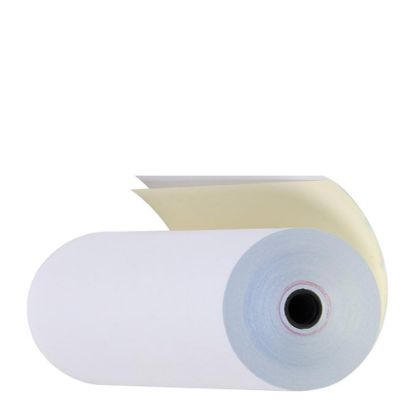 Picture of TELEX PAPER 2PLY x 50m WHITE/YELLOW