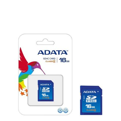Picture of SDHC CARD - ADATA (Class 4) 16GB