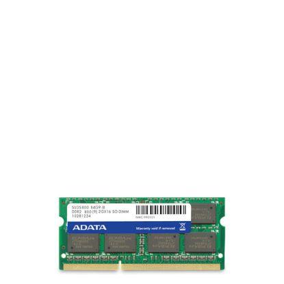 Εικόνα της DRAM ADATA (SO-DIMM) 800 - DDR2 - 2GB
