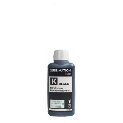 Εικόνα της Sublimation Ink Epson (BLACK) 125ml for small printers