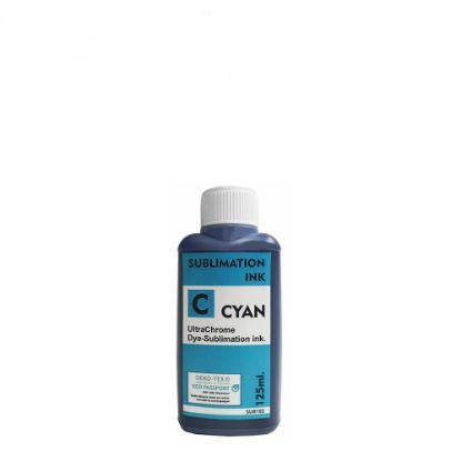 Εικόνα της Sublimation Ink Epson (CYAN) 125ml for small printers