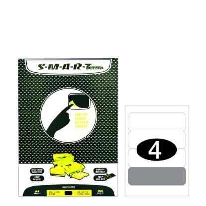 Εικόνα της Smart Labels (190x61) 4 labels White/100sh