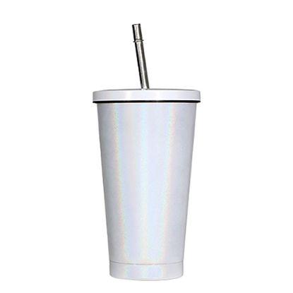 Εικόνα της STARBUCKS CUP - D.WALL 16 oz. WHITE Rainbow Sparkle