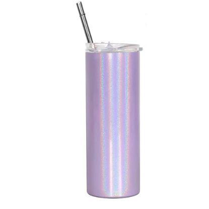 Εικόνα της Skinny Tumbler 20oz PURPLE Rainbow sparkling