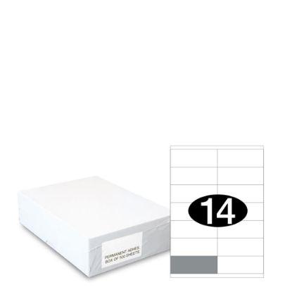 Εικόνα της Smart Labels (105x40) 14 labels White/500sh