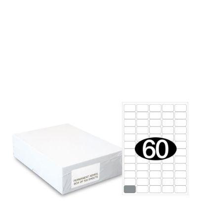 Εικόνα της Smart Labels (37.5x23.5) 60 labels White/500sh