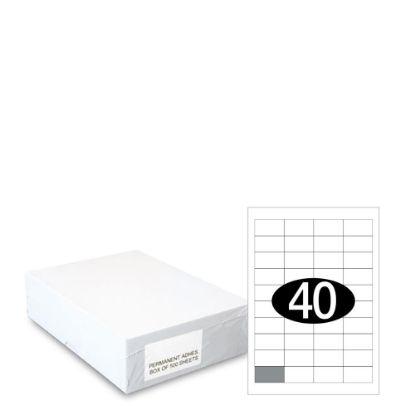 Εικόνα της Smart Labels (48.5x25.4) 40 labels White/500sh