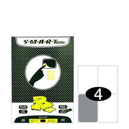 Εικόνα της Smart Labels (99.1x144) 4 labels White/100sh