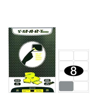 Εικόνα της Smart Labels (99.1x67.7) 8 labels White/100sh