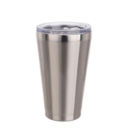 Εικόνα της Tumbler 15oz - WHITE with lip & Clear Cup