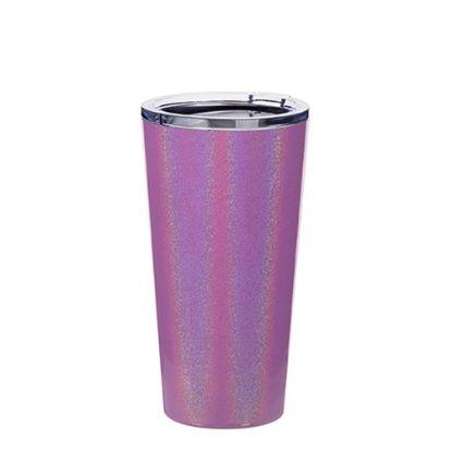 Εικόνα της Tumbler 16oz - PURPLE SPARKLING with Clear Cup