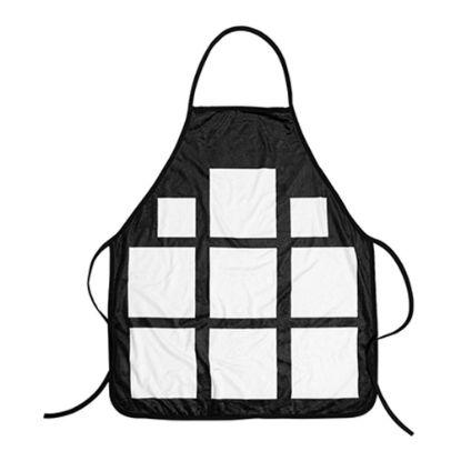 Εικόνα της APRON - ADULTS (65x72) BLACK 9 panel