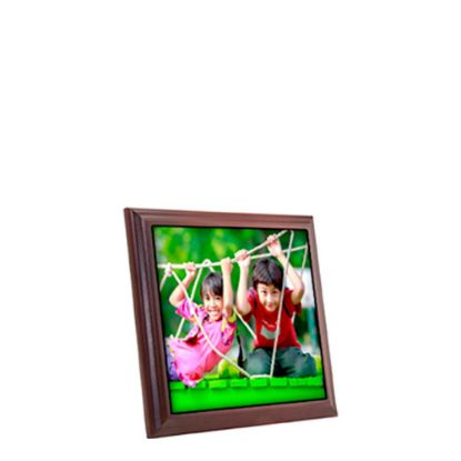 Picture of PICTURE FRAME (MAHOGAN.+TILE+BOX) 18.54x18.54