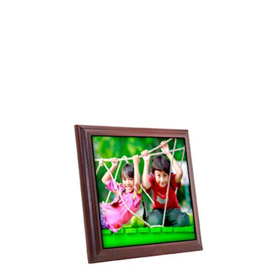 Εικόνα της PICTURE FRAME (MAHOGAN.+TILE+BOX) 18.54x18.54