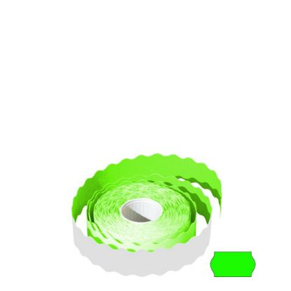 Picture of Label Rolls (22x12 mm) FLUO GREEN permanent