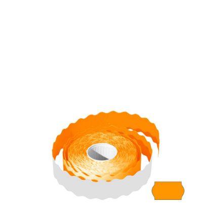 Picture of Label Rolls (22x12 mm) FLUO ORANGE permanent