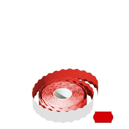 Picture of Label Rolls (22x12 mm) FLUO RED permanent