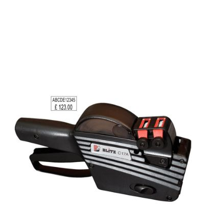 Picture of Labeller Gun (BLITZ C17/A) 2 Lines