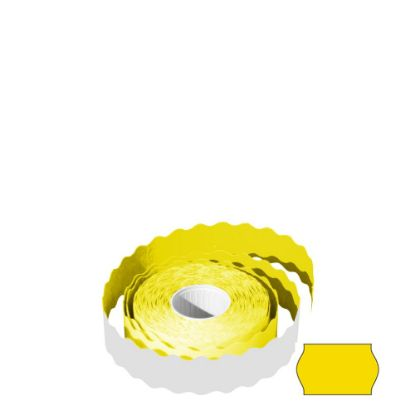 Picture of LABEL ROLL 26x16 WR (YELLOW) REMOVABLE