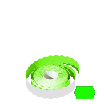 Picture of LABEL ROLL 26x16 WR (GREEN) FLUO - PERMANENT