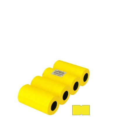 Picture of JOLLY BLISTER 20 ROLLS - 21X12 (YELLOW) PERMANENT