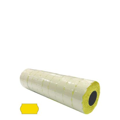 Picture of Label Rolls (Blister 22x12 mm) YELLOW permanent