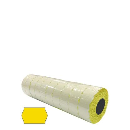 Picture of BLISTER 10 ROLLS - 26x16 WR (YELLOW) PERMANENT