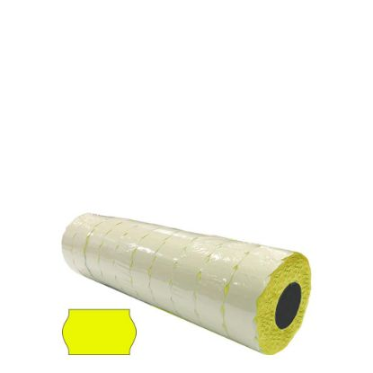 Picture of BLISTER 10 ROLLS - 26x16 WR (YELLOW) FLUO - PERMANENT