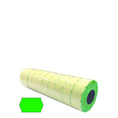 Picture of BLISTER 10 ROLLS - 26x16 WR (GREEN) FLUO - PERMANENT