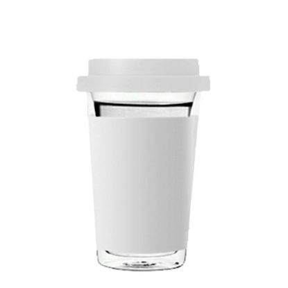 Picture of MUG GLASS - AIR DOUBLE WALL- WH.PATCH - 400ml