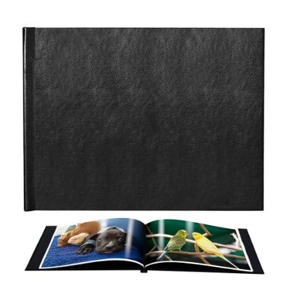 Picture of Pinchbook 29.7x42.0cm (Black Leather) Landscape