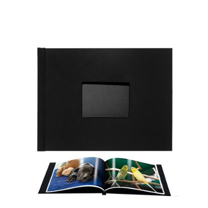 Picture of Pinchbook 21.0x29.7cm Window (Black Cloth) Landscape