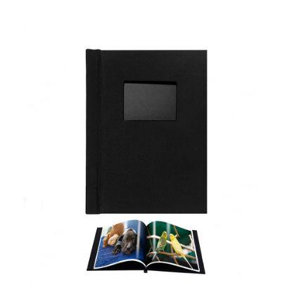Picture of Pinchbook 21.0x29.7cm Window (Black Cloth) Portrait