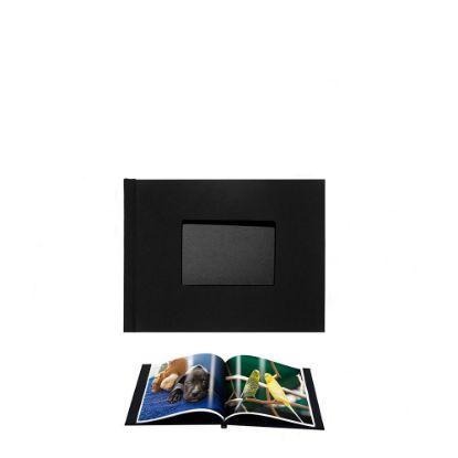 Picture of Pinchbook 15.2x20.3cm Window (Black Cloth) Landscape